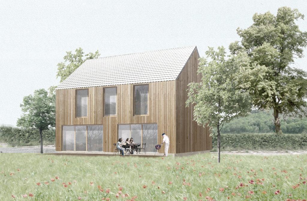 la maison optimale un concept. Black Bedroom Furniture Sets. Home Design Ideas
