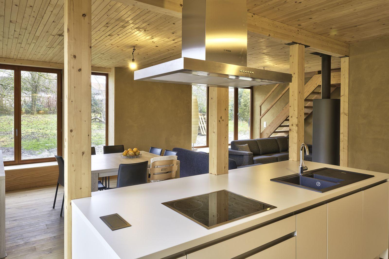 paille tech gentinnes maison optimale1 ossature bois paille terre promo 11. Black Bedroom Furniture Sets. Home Design Ideas