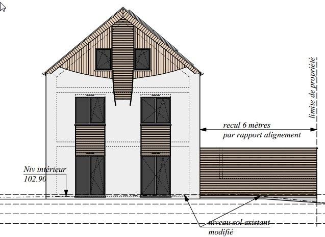 Projet Pon A Celles Maison Prefab Isolation Paille Ossature Bois 1